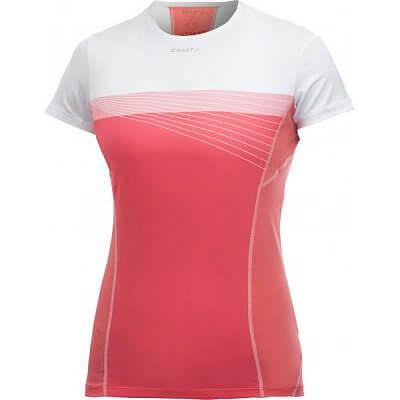 c9769192d406 Craft W Triko Cool růžová potisk - dámské tričko