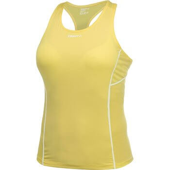 Trička Craft W Nátělník Cool Singlet žlutá