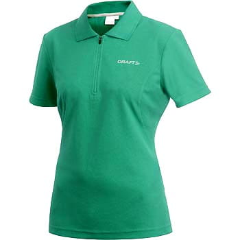 Trička Craft W Triko Polo zelená