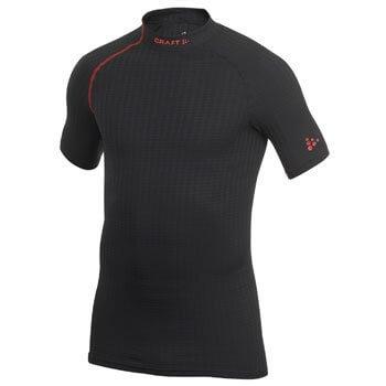 Trička Craft Triko Extreme Shortsleeve černá s červenou