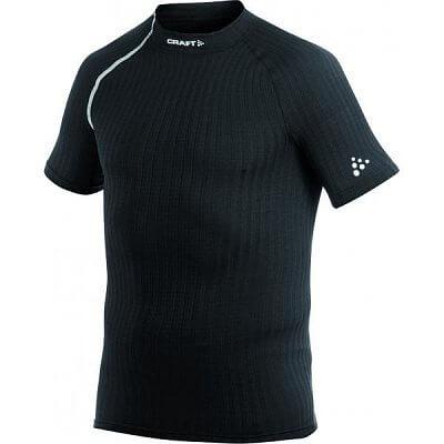 Trička Craft Triko Extreme Shortsleeve černá s bílou