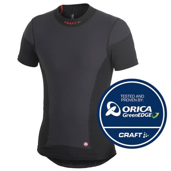 Trička Craft Triko Extreme WS Shortsleeve černás červenou