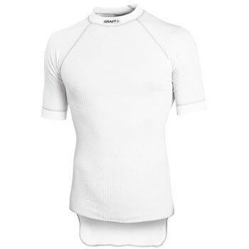 Trička Craft Triko Active Short Sleeve bílá