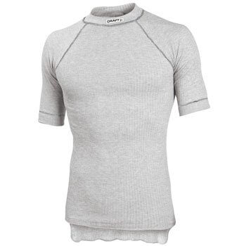 Trička Craft Triko Active Short Sleeve šedá