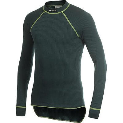 Trička Craft Triko Active Crewneck zelená