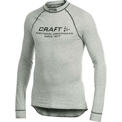 Craft Triko Active Crewneck šedá