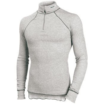 Trička Craft Rolák Active Turtleneck šedá