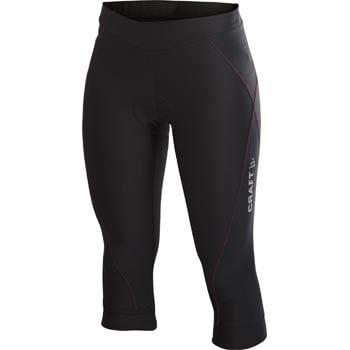 Kalhoty Craft W Cyklokalhoty AB Knickers černá s růžovou