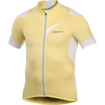 Trička Craft Cyklodres EB Jersey žlutá