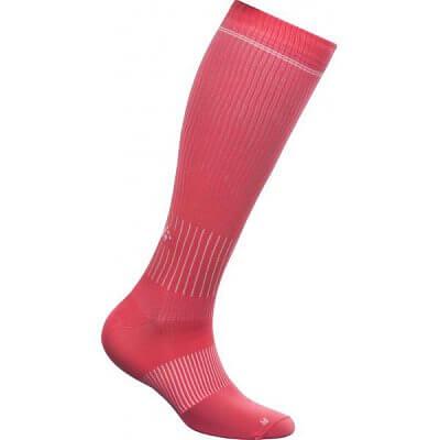 Ponožky Craft Podkolenky Body Control růžová