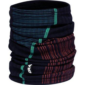 Doplňky oblečení Craft Nákrčník Extreme černá se zelenou