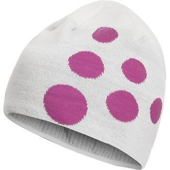 Čepice Craft Čepice Big Logo bílá s růžovou