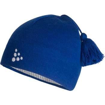 Čepice Craft Čepice Logo modrá