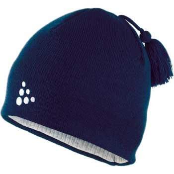 Čepice Craft Čepice Logo tmavě modrá