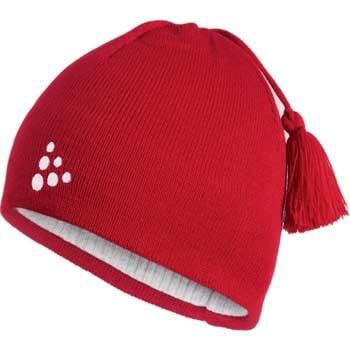 Craft Čepice Logo červená