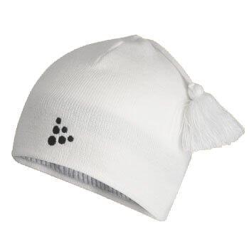 Čepice Craft Čepice Logo bílá