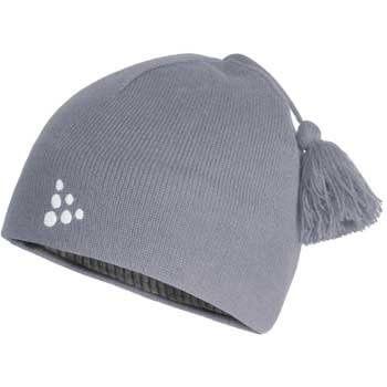 Čepice Craft Čepice Logo šedá