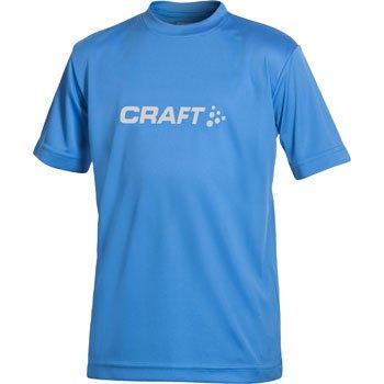 Trička Craft Triko Run Logo modrá