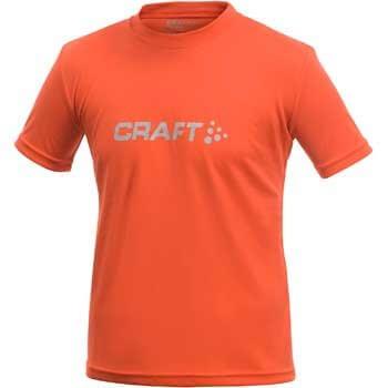 Trička Craft Triko Run Logo červená