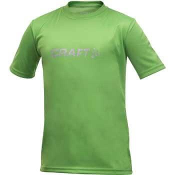 Trička Craft Triko Run Logo světle zelená