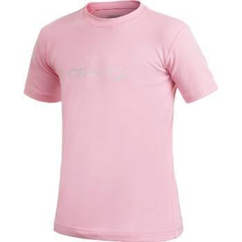 Trička Craft Triko Run Logo růžová