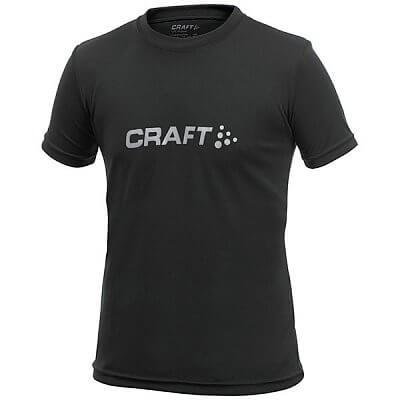 Craft Triko Run Logo černá