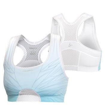 Spodní prádlo Craft Podprsenka Sports Bra bílá