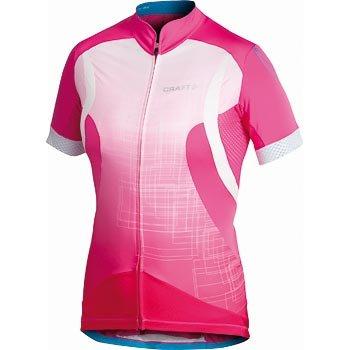 Trička Craft W Cyklodres EB Jersey růžová