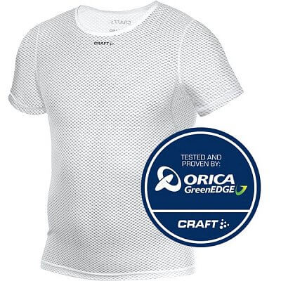 Trička Craft Triko Mesh Superlight bílá