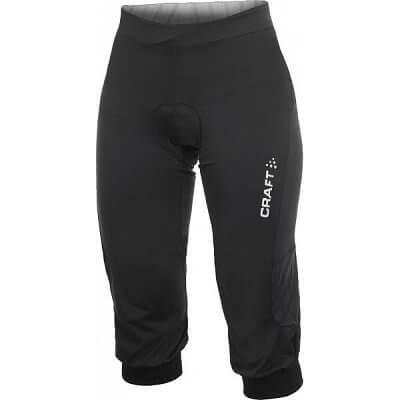 Kalhoty Craft W Cyklokalhoty AB Relaxed černá
