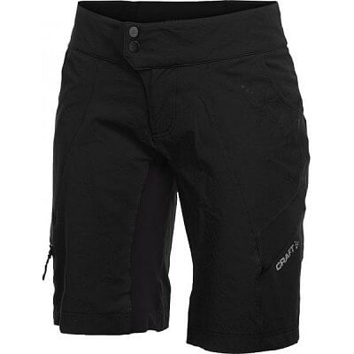 Kraťasy Craft W Cyklokalhoty AB Loose Fit Shorts černá