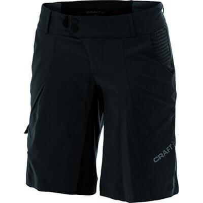 Craft W Cyklokalhoty AB Loose Fit Shorts černá s šedou