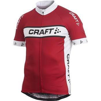 Trička Craft Cyklodres AB Logo červená