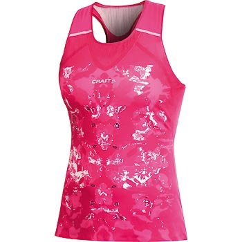 Trička Craft W Nátělník ER růžová