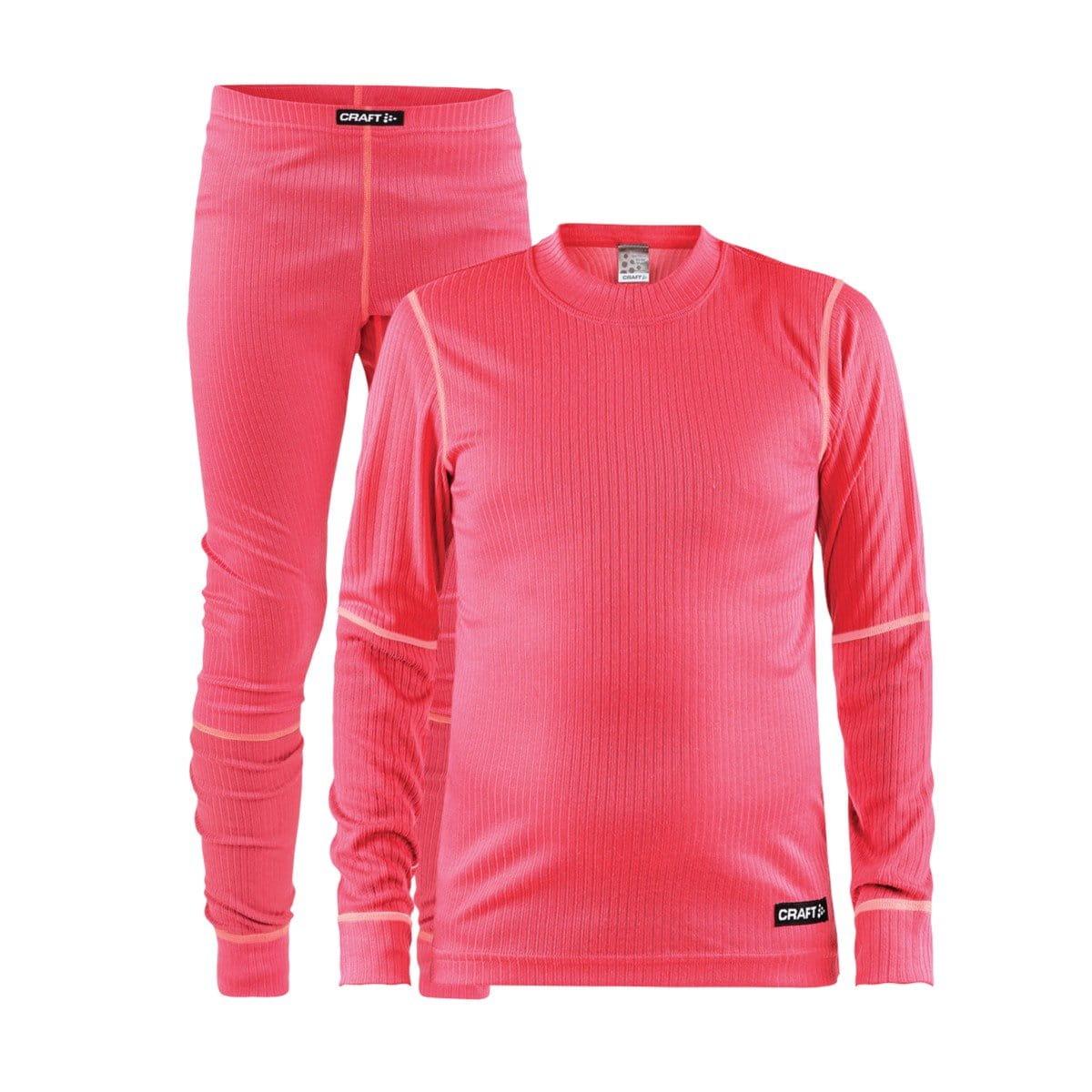 Spodní prádlo Craft Set Baselayer Junior růžová