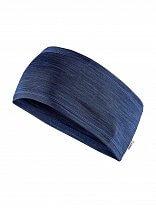 Craft Čelenka Melange tmavě modrá
