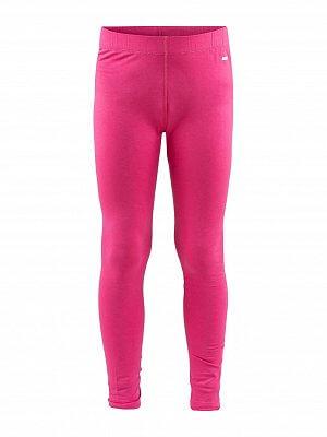 Spodní prádlo Craft Spodky Essential Warm Junior růžová