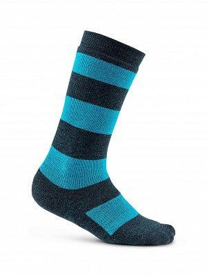 Ponožky Craft Podkolenky Warm Comfort Junior tmavě modrá