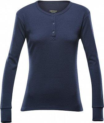 Dámské Merino tričko Devold Nature Woman Button Shirt