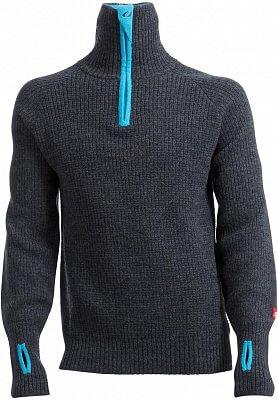 Pohodlný unisexový sveter Ulvang Rav sveter so zipsom