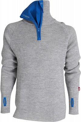 Pohodlný unisexový sveter Ulvang Rav W/Zip Svetr