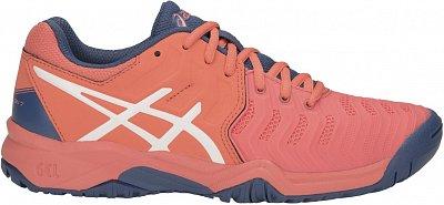 Asics Gel Resolution 7 GS - detské tenisové topánky  d389f757ee