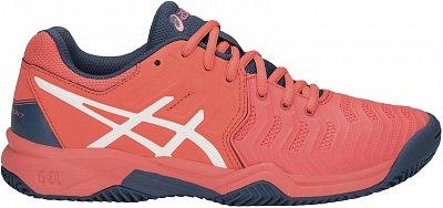 Asics Gel Resolution 7 Clay GS - detské tenisové topánky  65cdc540701cc