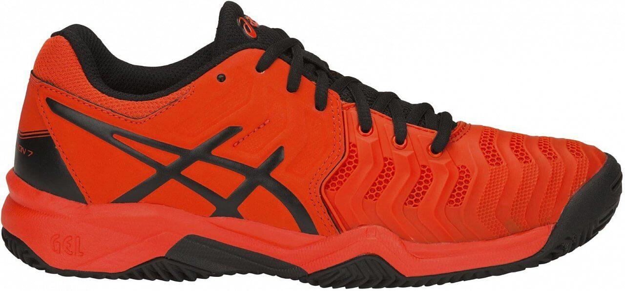 Asics Gel Resolution 7 Clay GS - detské tenisové topánky  e6d1aaa010