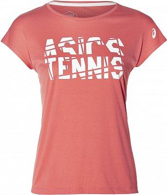 Dámské tenisové tričko Asics Practice Graphic SS