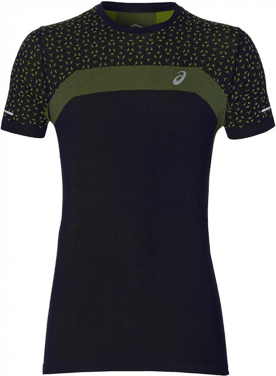 Asics Seamless SS Texture. Pánske bežecké tričko 8d0d39624a
