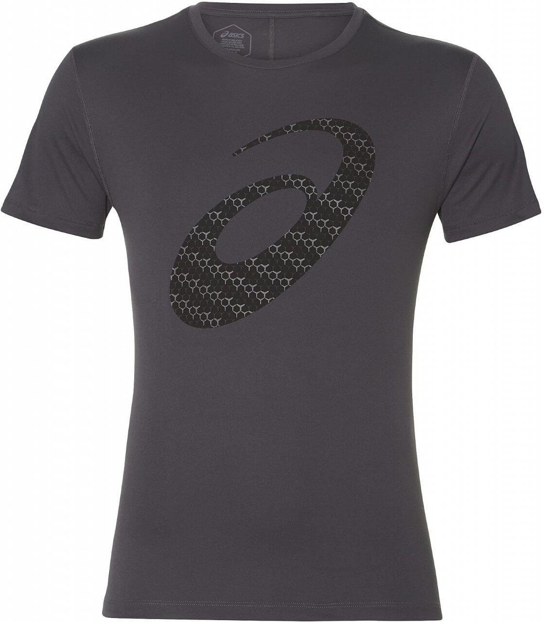 Asics Silver Graphic SS Top. Pánské běžecké tričko 656bbd62f4