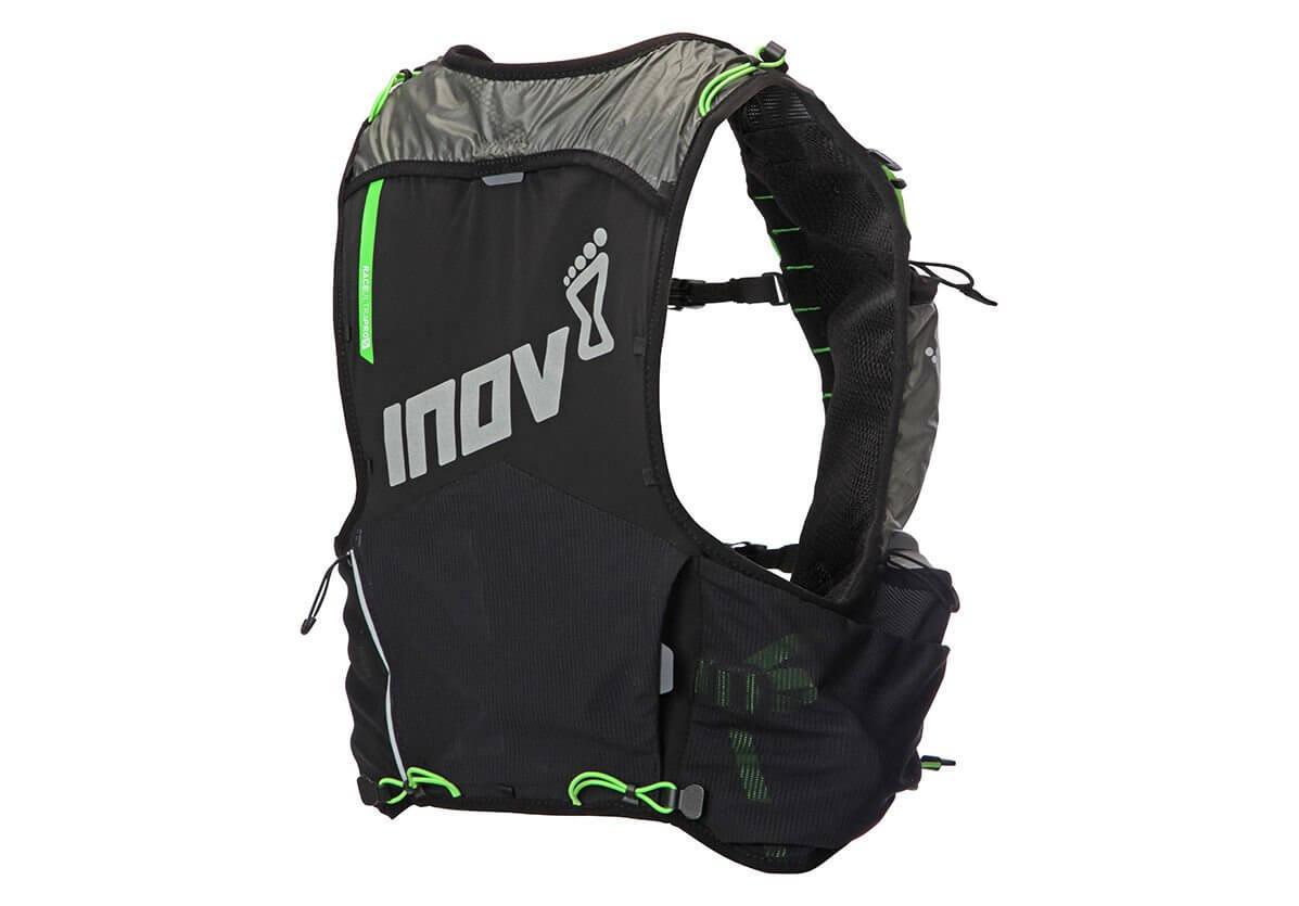 Tašky a batohy Inov-8 RACE ULTRA PRO 5 VEST black/green černá se zelenou