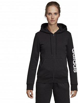 b6ef6344724 Dámská sportovní mikina adidas Essentials Linear Full Zip Fleece Hoodie