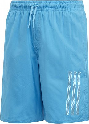 Chlapecké plavky adidas Youth Boys Stripes Swim Short Classic-Length